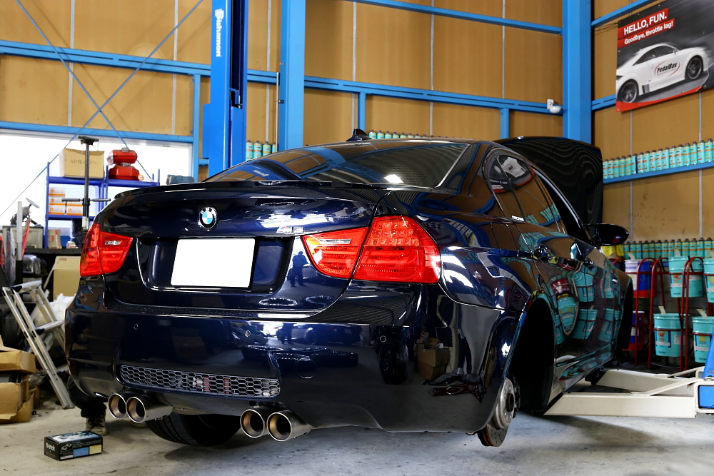 BMW E90/M3 & オイル交換+タイヤ交換+メンテナンス+NUTEC走行会!!