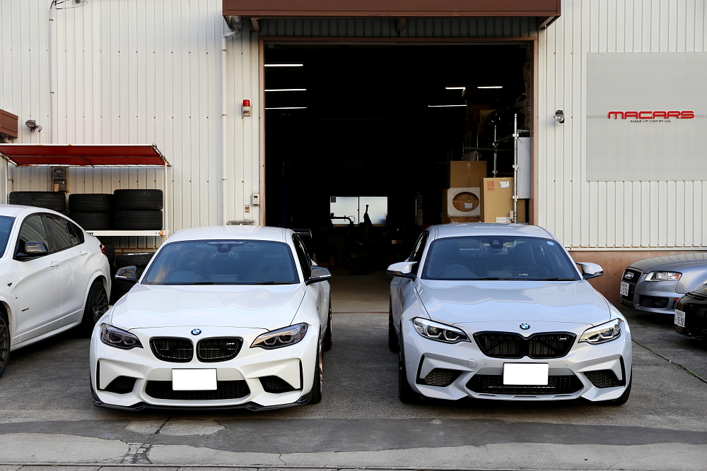 BMW F82/M2 COMPETITION & ブレーキローター計測+オーダー予約開始!!