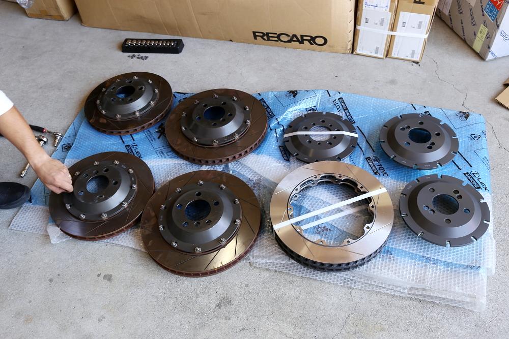 BMW F80/M3LCI & Rdd製ローターKit製作+アライメント調整!!