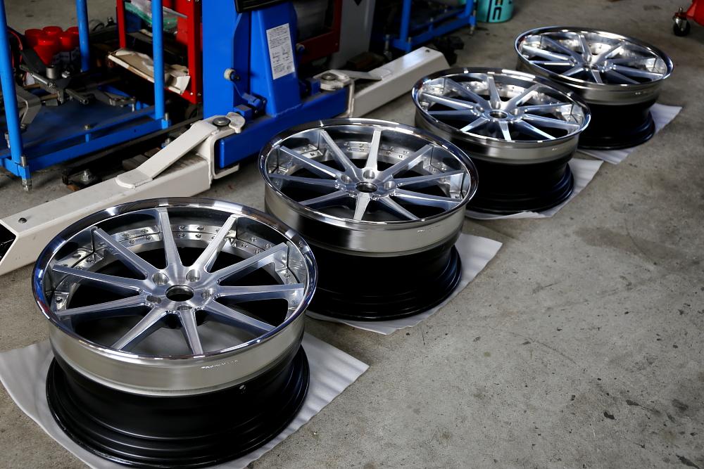 BMW F06/640IGC & ホイール修理+タイヤ交換!!