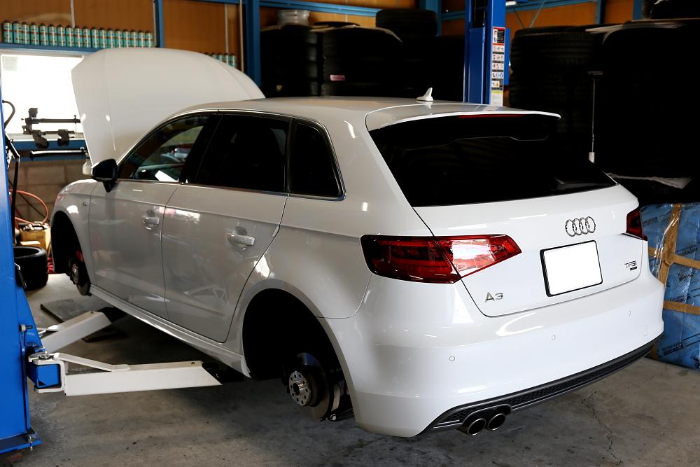 Audi A3/8V S-LINE & DC PLUS+TEXAエアコンガス+メンテナンス施工!!