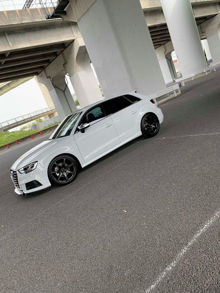 Audi A3/8V+RAYS撮影 & neutrale+FORGE TECH取り扱い開始!!