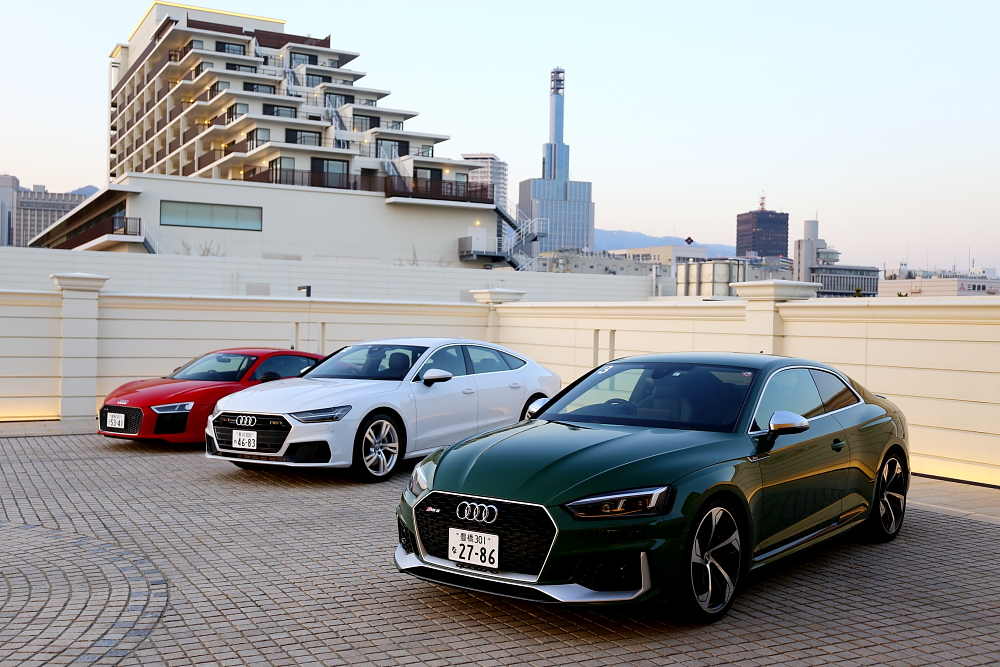 Audi新型試乗会へ行ってきました!!