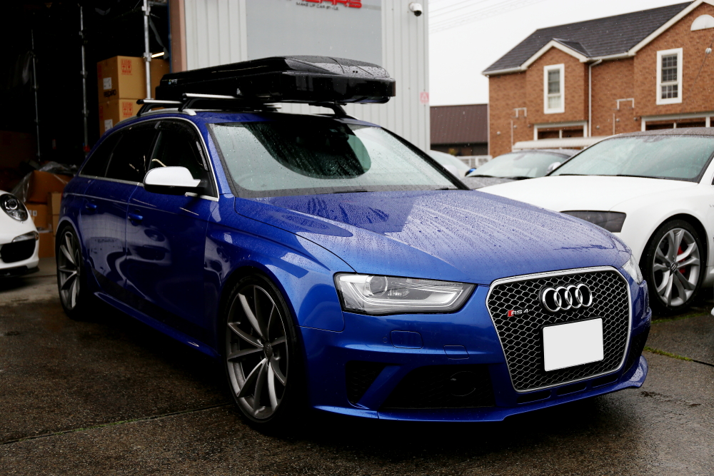 Audi RS4/B8.5 Avant & オイル交換+メンテナンス施工+CPM装着!!