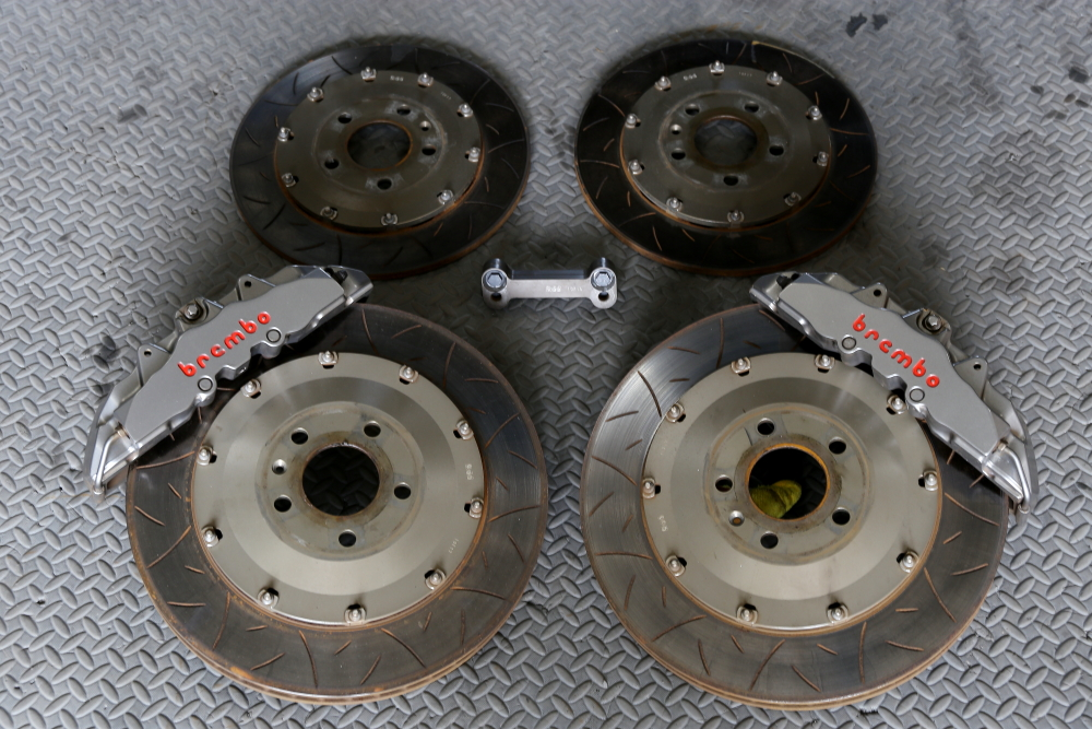 Audi A4/B8.5 Avant & Brembo8POT Rdd製380mm+BIG ROTOR Kit+cpm!!