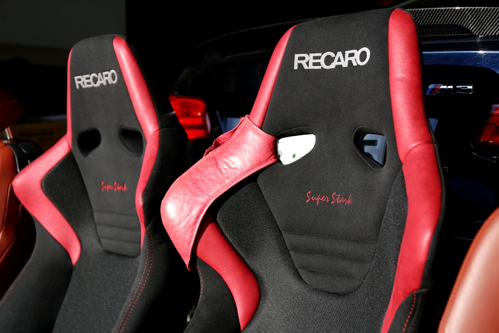 "BMW E92/M3 & RECARO Superstark NU""装着!!"
