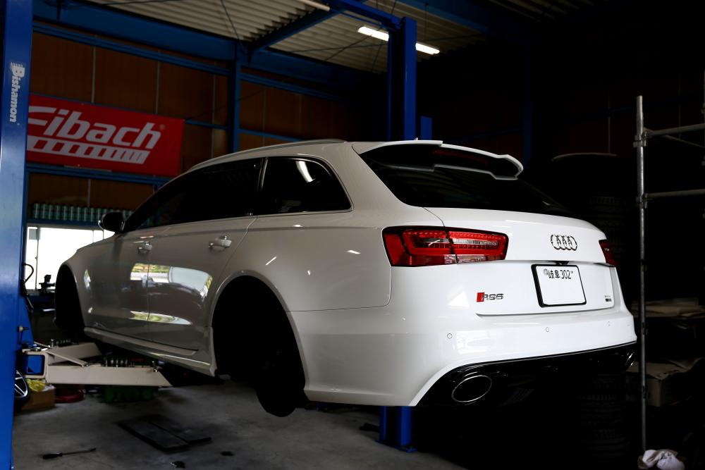 Audi RS6/4Gブレーキローター計測!!