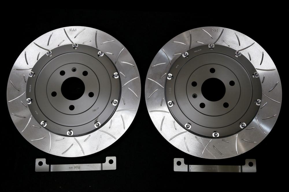 Audi RS4/B7 SEDAN & MACARSオリジナルRdd製BIGローターKit+マーベラスパッド+メッシュホース!!