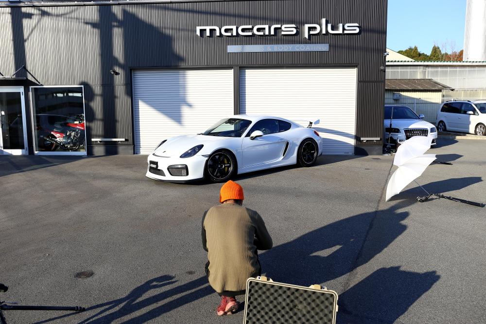 Porsche981/ケイマンGT4 & RAYS撮影+BC FORGED RZ05+ADVAN A052+サンダアボルト!!