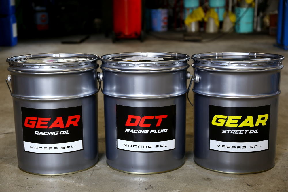 MACARS SPL DCT RACING FLUID& GEAR OIL RACING/STREET 完成!!