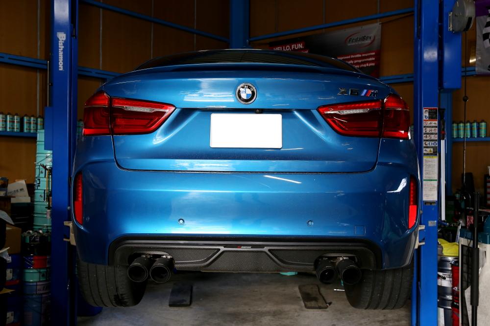 BMW F86/X6M & 純正ブレーキローター計測!!