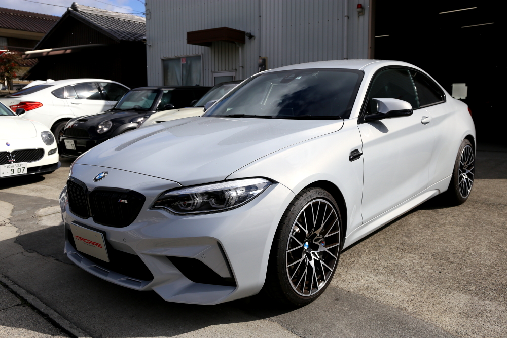 BMW F87N M2コンペティション & RECARO RS-G+KW Clubsport 3WAY+LAPTORR フロントマウント ピロ+KW CLUBSPORTコントロールアーム!!