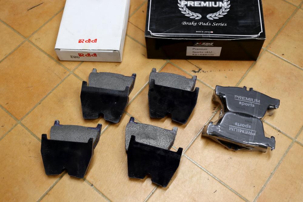 Audi TTRS/8S & ブレーキローター研磨+Rdd製補修用ローター+特注ブレーキパッド交換!!