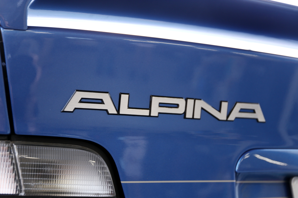 BMW ALPINA B8 4.6 & ブレーキ計測+MTオイル交換!!