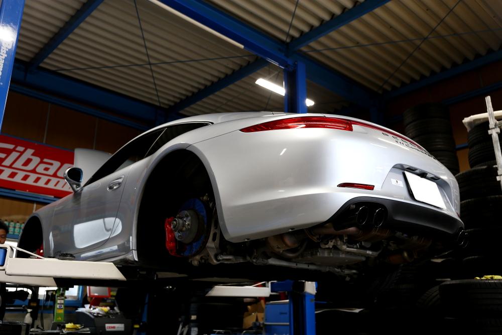 Porsche 991/カレラ4GTS & ブレーキ計測!!