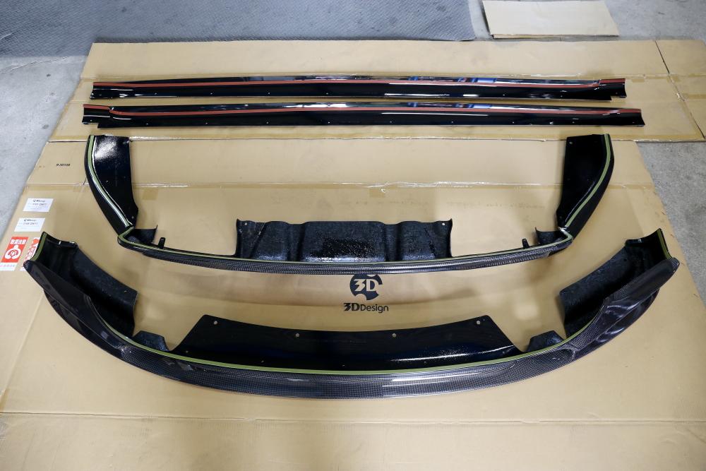 BMW F86/X6M & 3D Designカーボンパーツ+ペイント+ECU TUNE!!