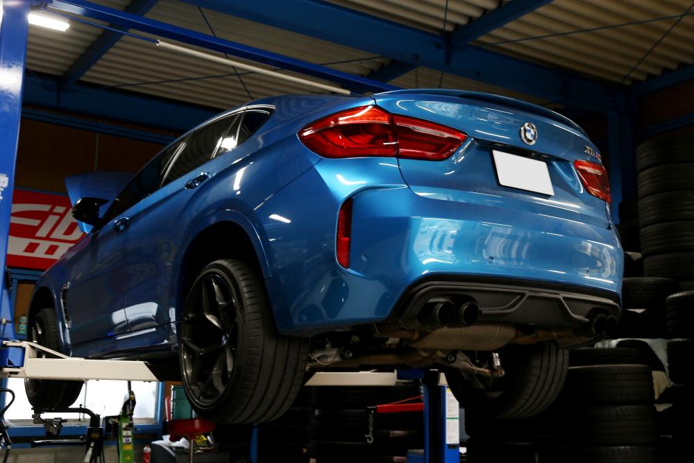 BMW F86/X6M & エンジン+ATF+デフオイル交換+3D Desigリアウイング!!