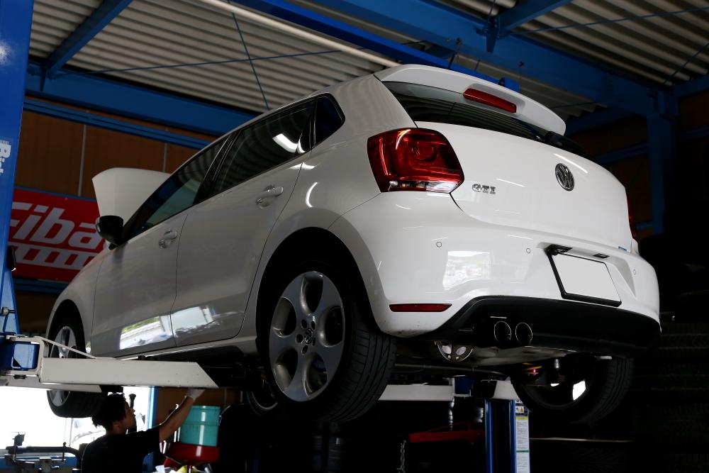 VW POLO/6R GTI & 車検・メンテナンス施工!!