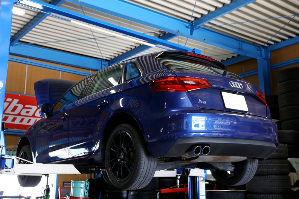 Audi A3/8V & タイヤ交換・ローター研磨・ブレーキパッド交換・BREX HIDバルブ!!
