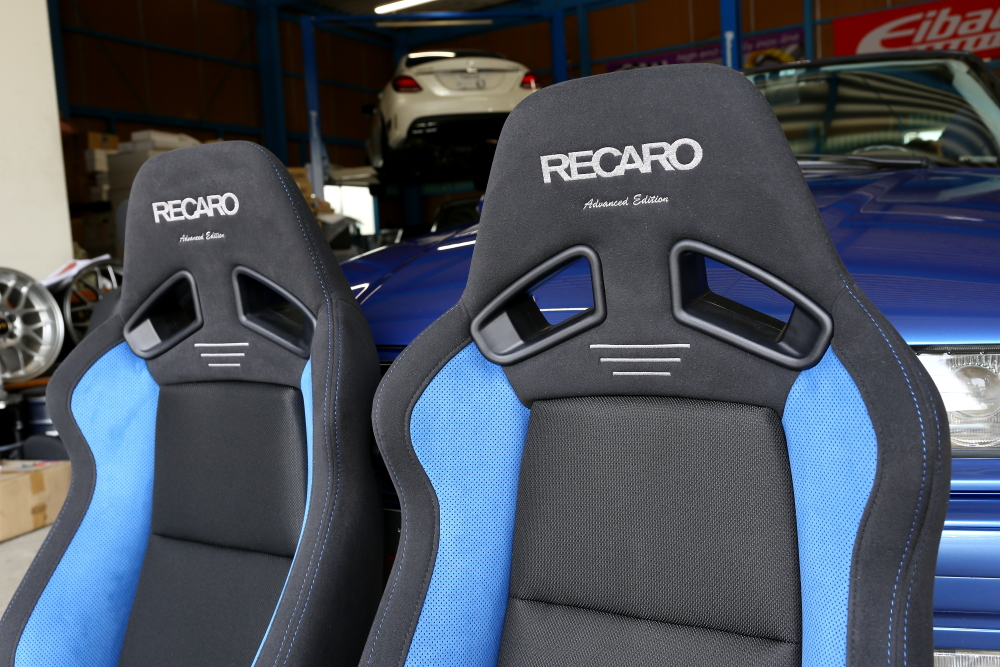 BMW E36/アルピナ & RECARO SR-7 Advnced Editionブルー!!