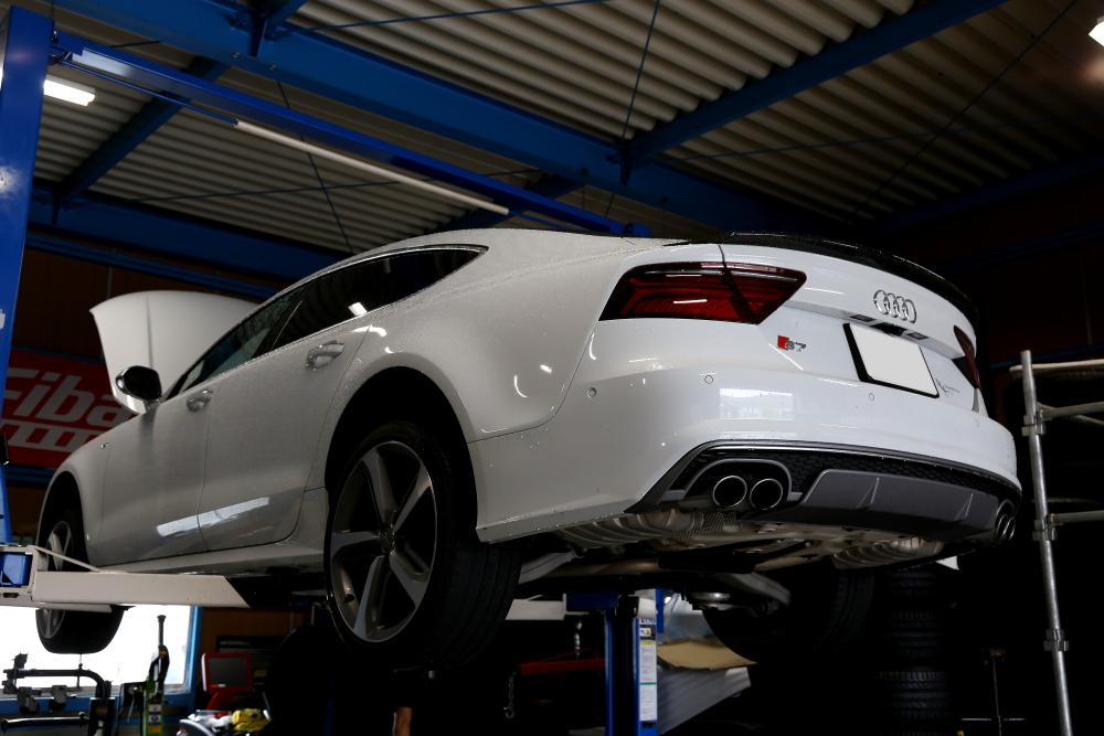 Audi S7/4G SB & 車検+メンテナンス施工+キャリパーペイント!!