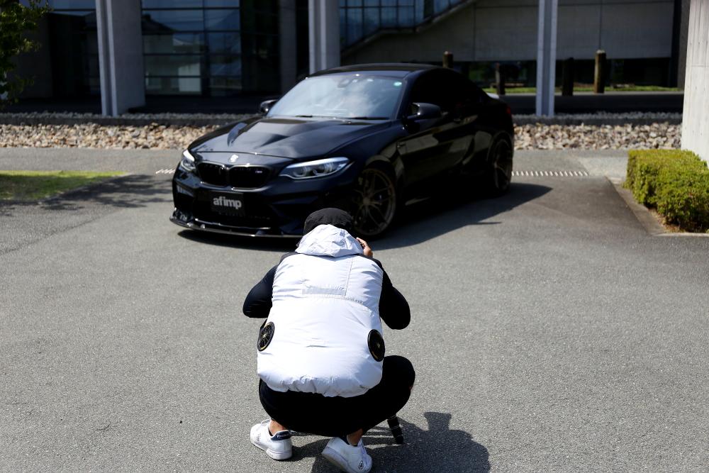 BMW F87N/M2C &  雑誌・撮影・取材!!