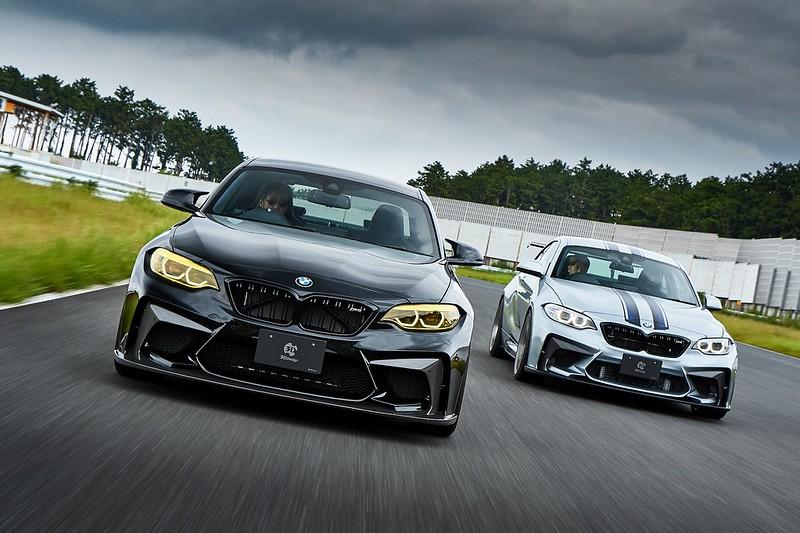 BMW F87/M2 Competition & 3D Designフロントバンパースポイラー!!