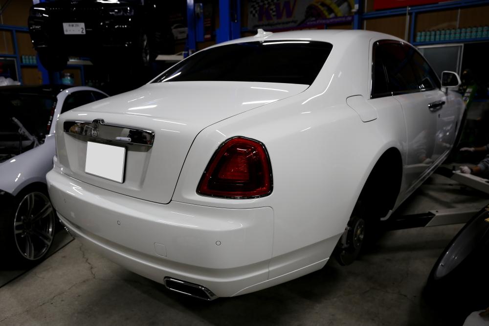 Rolls-Royce Ghost & ホイール+キャリパーコーティング施工!!