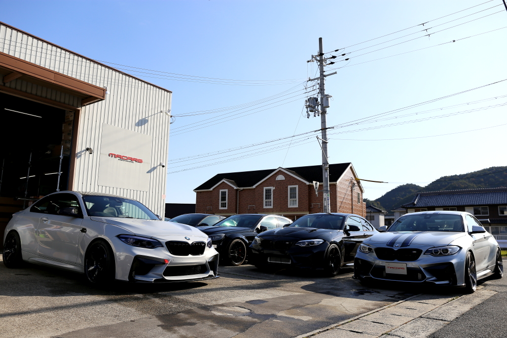 BMW F87N/M2Competition & 3D Design M2デモカーご来店!!