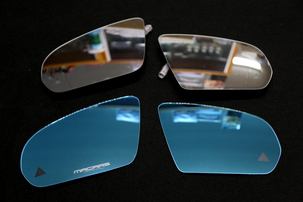 M-BENZ C205/C63S Coupe & MACARSオリジナルロゴ入りブルーミラー!!