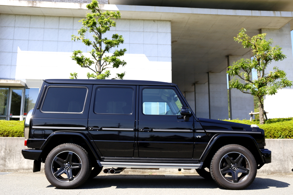 M-BENZ W463/G550 & BRABUS+BELLOF+LUGGAGE FLAT SPACE+ブルーミラー+IDIOM+カーボンステアリング!!