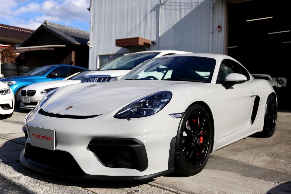 Porsche Cayman718/GT4 & ブレーキ計測!!