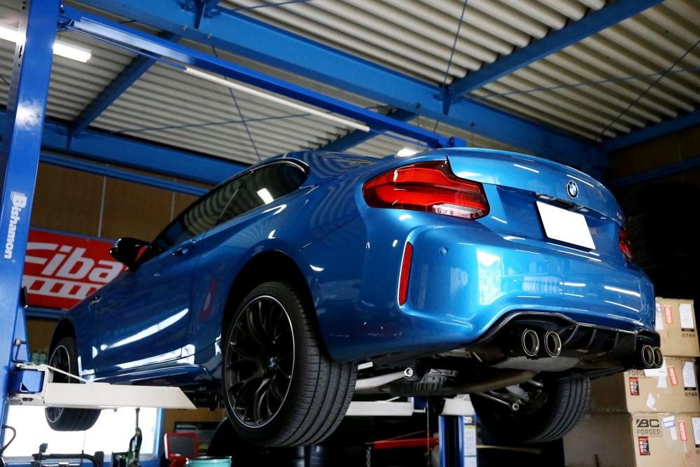 BMW F87/M2LCI & MACARS SPL GEAR RACHIG OIL交換!!