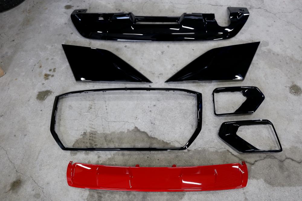 Audi Q2 & パーツペイント+ボディコーティング施工!!