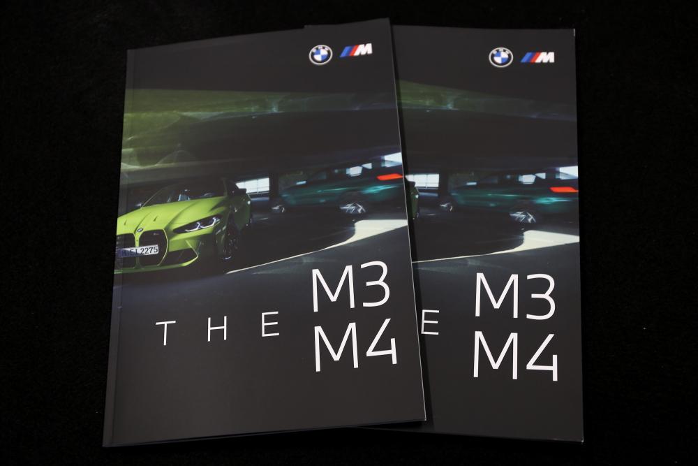 BMW NEW M3/M4カタログ!!