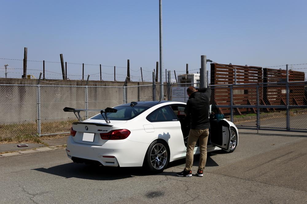 BMW M4GTS & デモカー撮影・取材!!