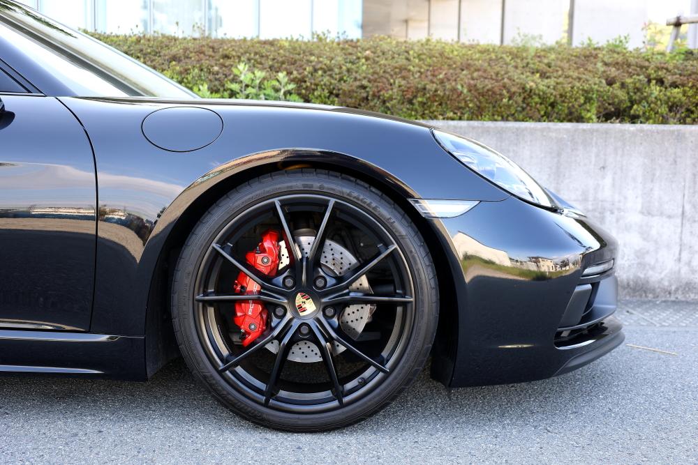 Porsche 718/Cayman S & STEK施工+MP+コーティング施工!!