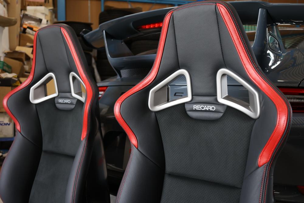 Porsche 991.2/GT3 & RECARO SP-X Avant CL210 !!