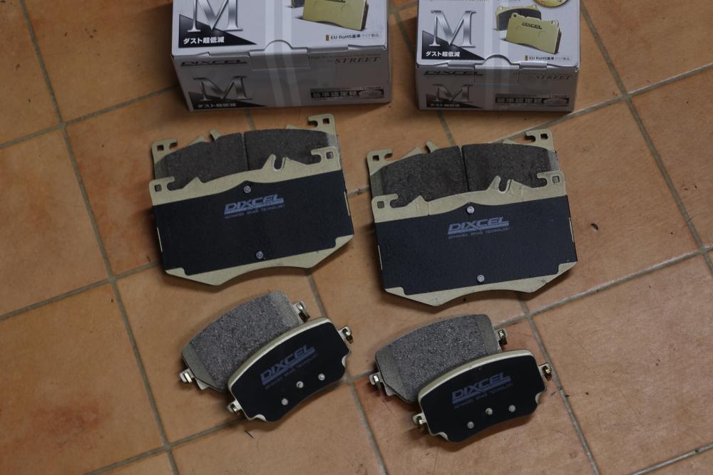 M-BENZ GLB35 & YUPITERU+低ダストパッド+core dev!!