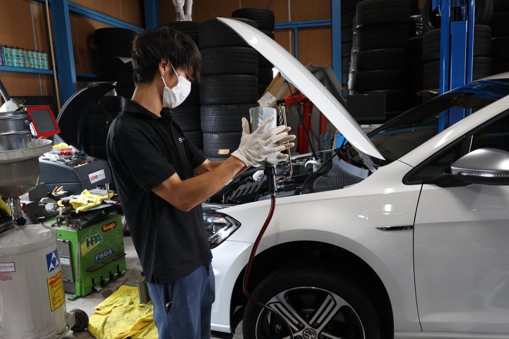 VW MK7.5/GOLF-R & 車検・メンテナンス施工!!