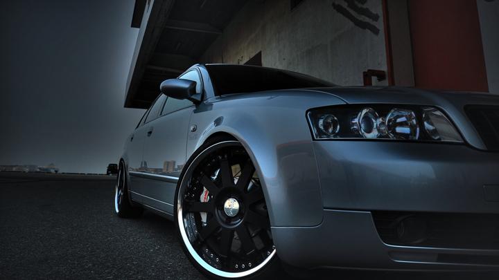 Audi A4 Avant HDR Processing.