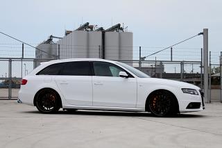 Audi A4/B8Avant撮影 & 新商品+リジカラ!!