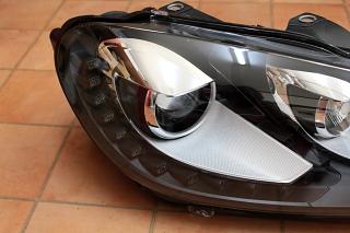 VW MK6/GTI & LED DRL付ヘッドライト!!