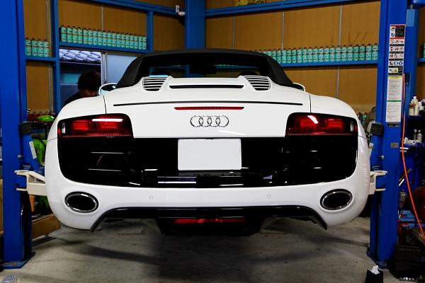 Audi R8/V10スパイダー + Rdd BBK!!