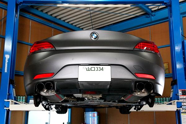 BMW E89/Z4 + タイヤ&オイル交換!!