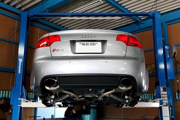 Audi RS4/B7 + メンテナンス!!