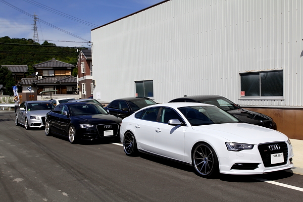 新規様 多数ご来店 & Audi Q5 KW V-3装着!!