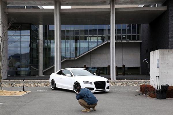 Audi A5/B8クーペ & 取材・撮影!!