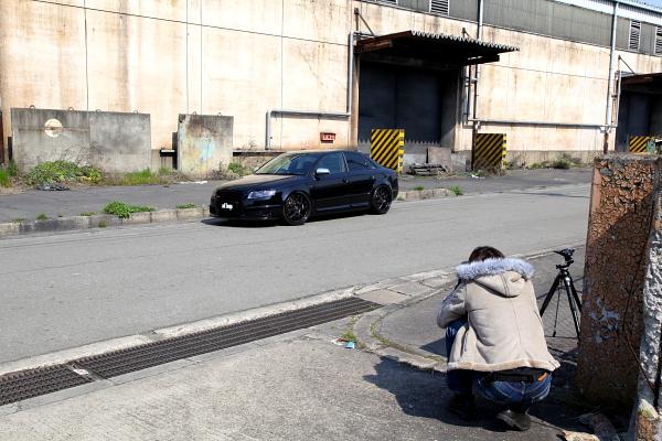 Audi S4/B7 & af imp撮影!!