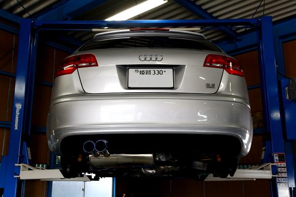 Audi A3/8P & 車検・メンテナンス・タイヤ交換・PEDAL BOX!!